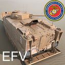 Expeditionary Fighting Vehicle 3D models