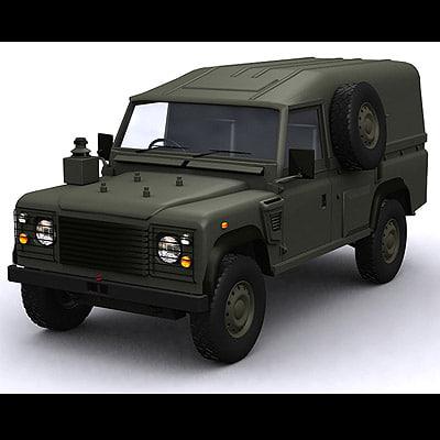 jeep car 3d max