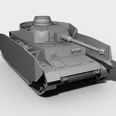 3d panzer tank