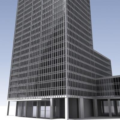 3ds seagram building