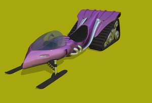 snowmobile obj free