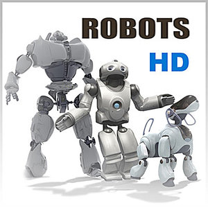 3ds max definition riged robots -