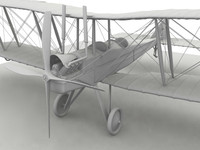 Royal Aircraft Factory BE2c no material