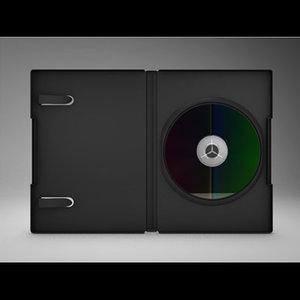 3d dvd case cd