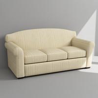3d sofa armchair