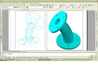 3d model transition pipe
