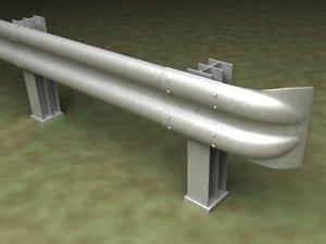 guard rail 3d lw