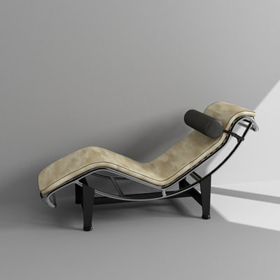 cow chair 3d max