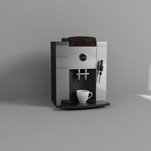 3d coffee espresso