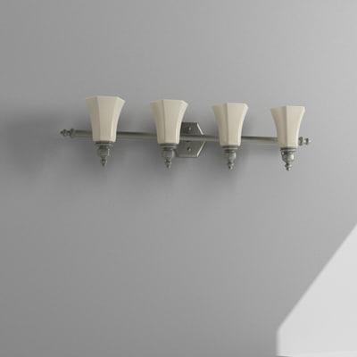 3d bathroom light