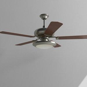 ceiling fan light 3d max