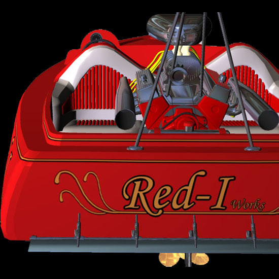 racer boat drag race pz3