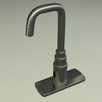 3ds max tap faucet