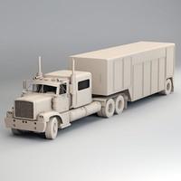 Generic Semi Truck B