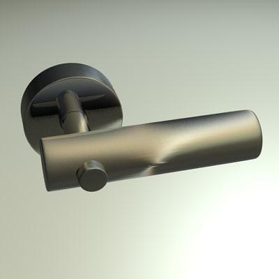 3ds max door handle