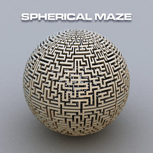 maze spherical c4d