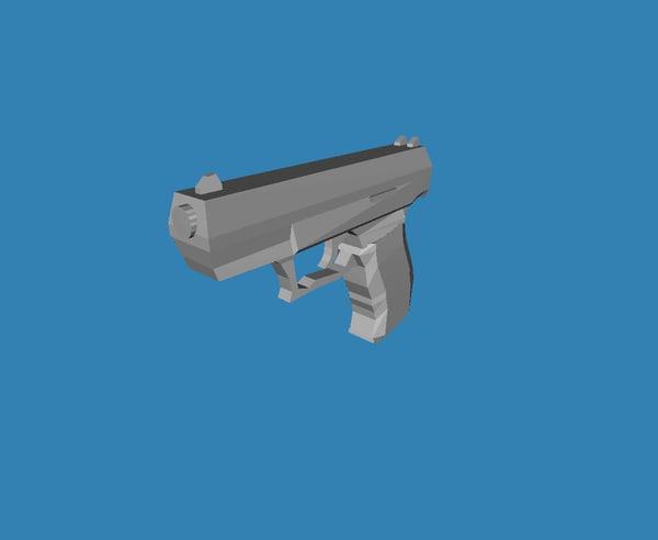 free p99 3d model