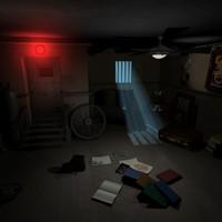 3d chaotic room model