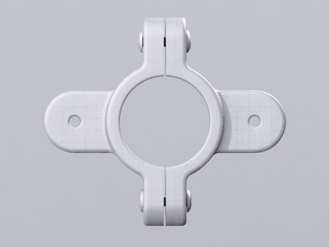3d hardware clamp