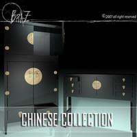 Chinese cabinet & closet