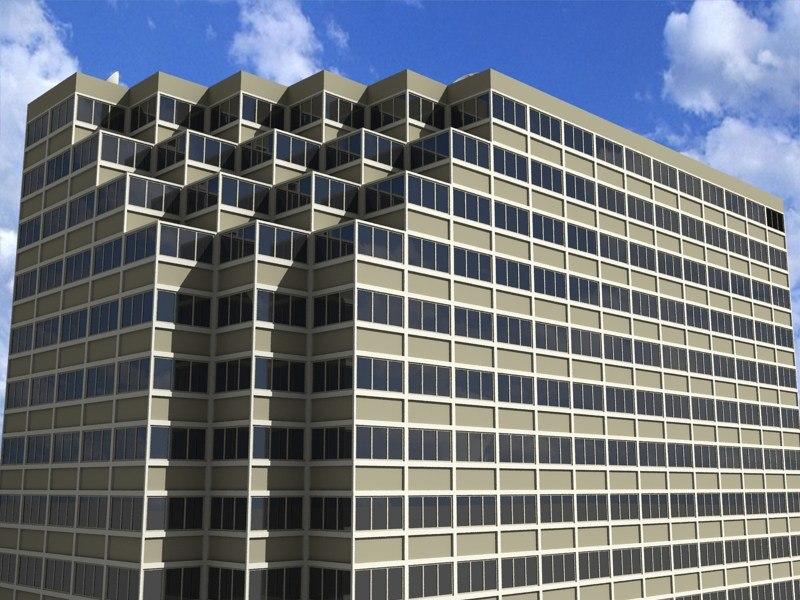 m d financial building 3d 3ds