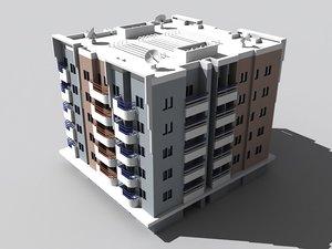 3ds max centaur apartments