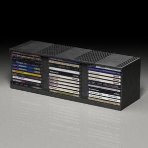 cd storage 3d model