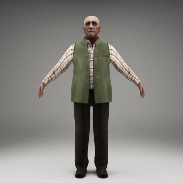 3ds max axyz 2 character