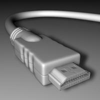 HDMI_3DS/OBJ/FBX