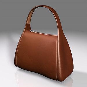 hand bag 3d fbx