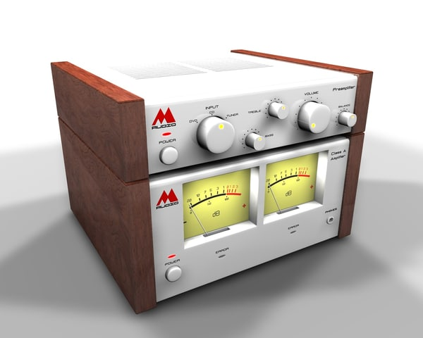 3d amplifier set model