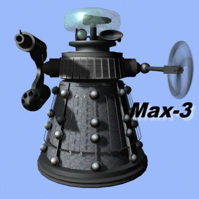 3ds max kill killbot bot