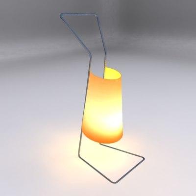 maya small contemporary table lamp