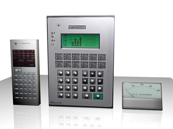 3d electrical control programmer meter