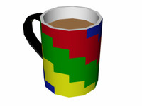 3ds tea cup