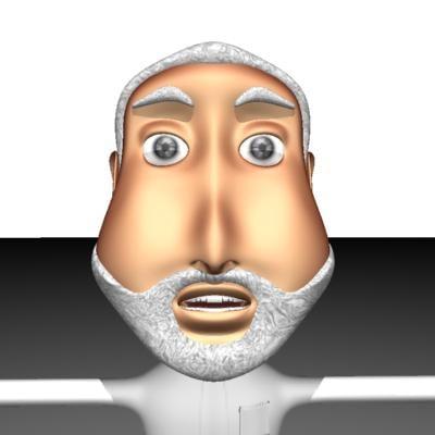 free old man 3d model