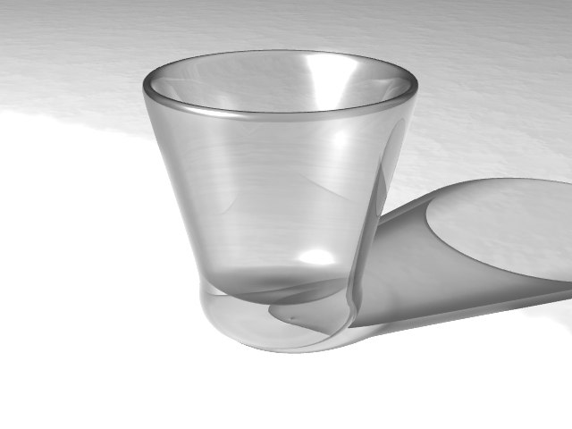 shot glass shotglass 3d model