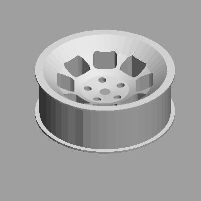 free 3ds mode slotted mag wheel bolt