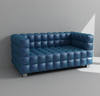 3d contemporary couch