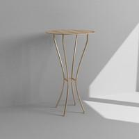 3d bistro table