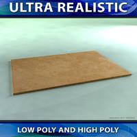 realistic tile 03 3d model