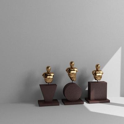 3ds max sculptures