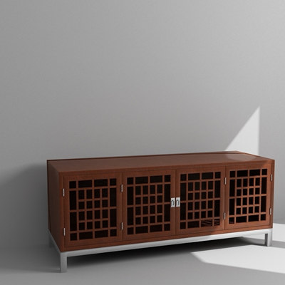 3d chinese cabinet model
