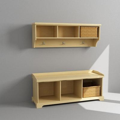 entry cabinet 3d model