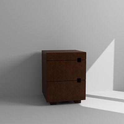 3d cabinet nightstand