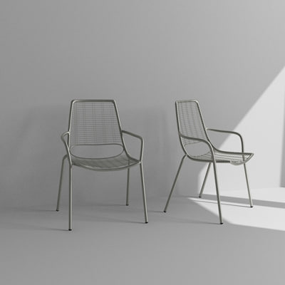 contemporary metal chair 3d max