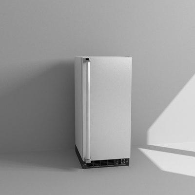 3d mini refrigerator