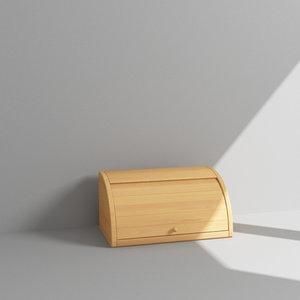 3d bread holder model