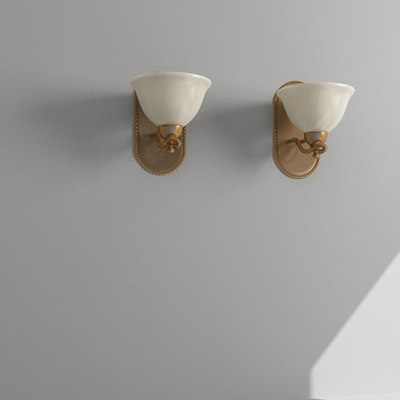 wall sconce 3d max