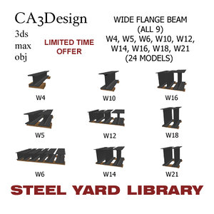 wide flange beam max
